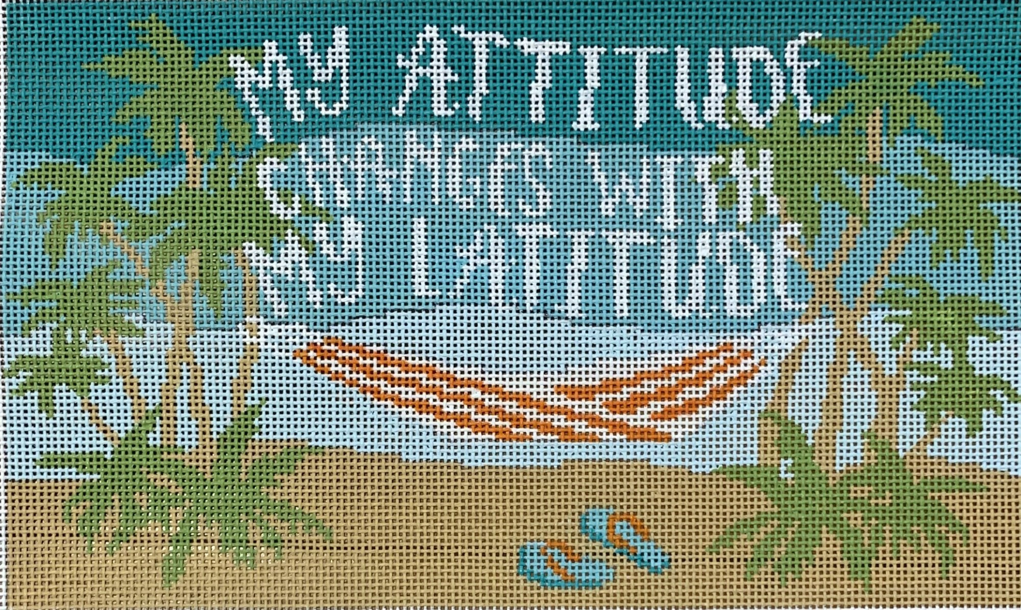 Attitude Changes with Latitude