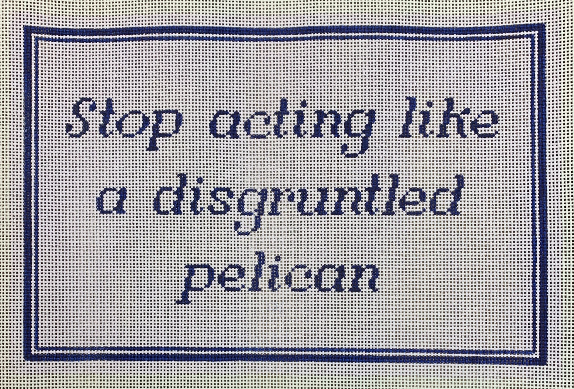 Disgruntled Pelican