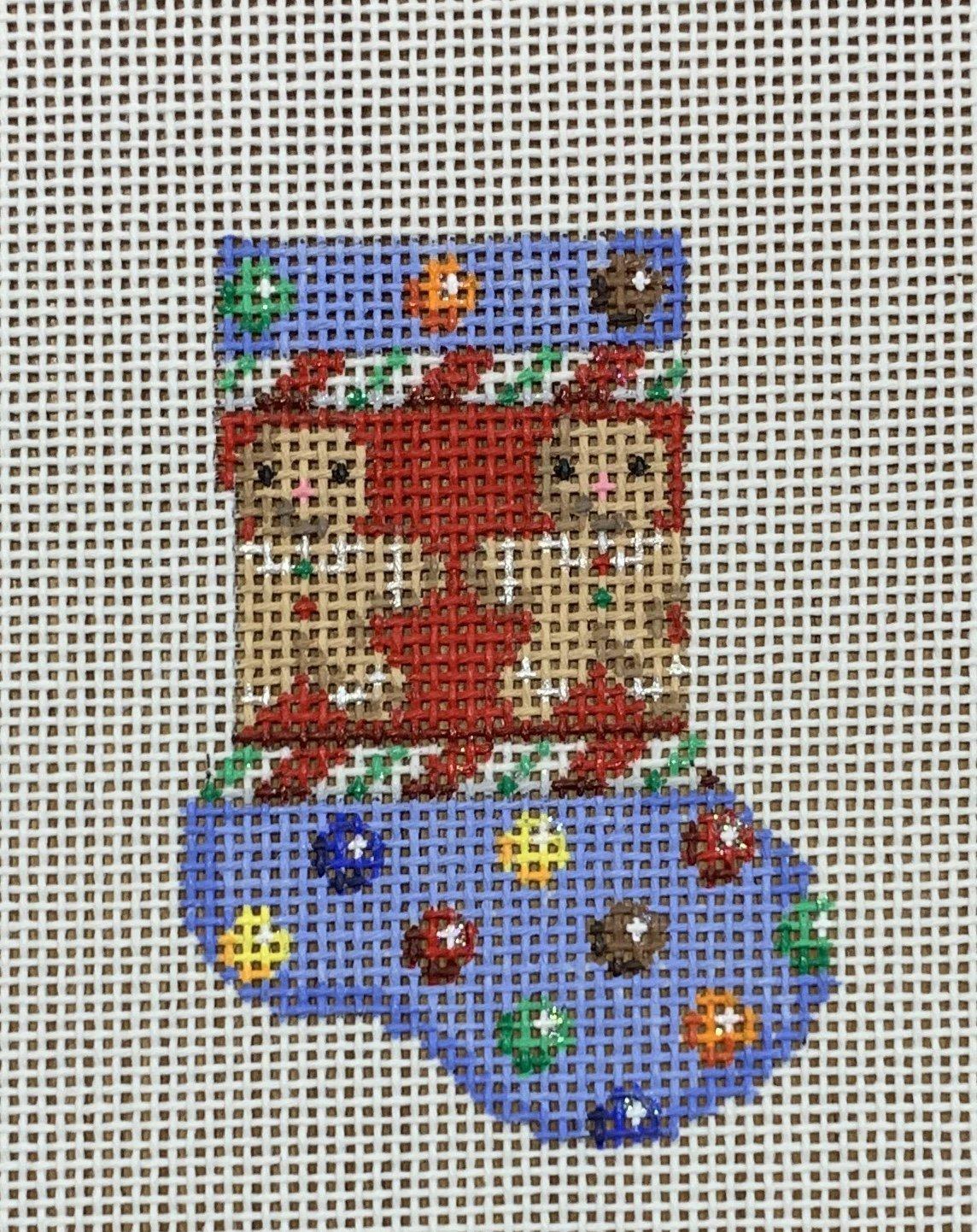 M&M Gingerbread Boy Micro Sock