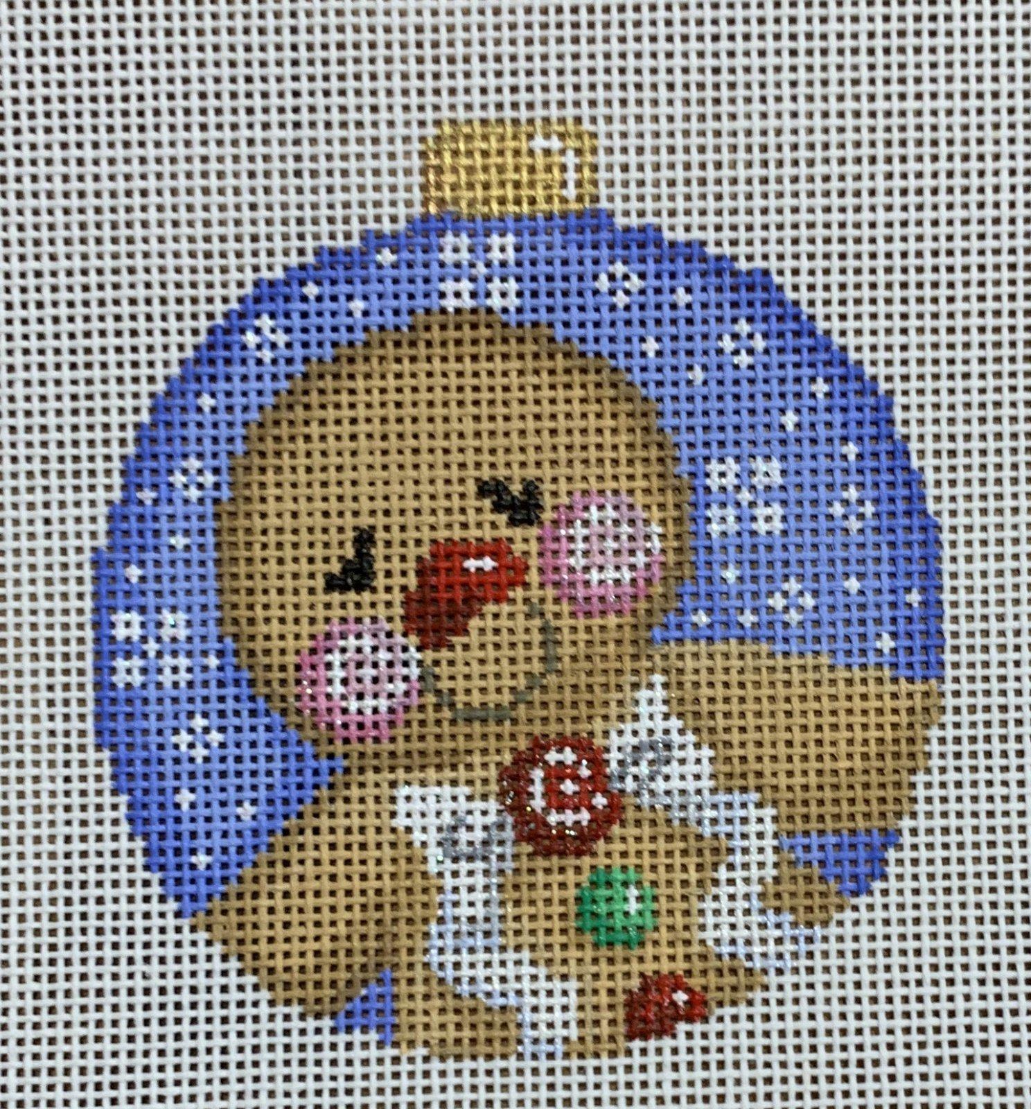 Gingerbread Boy Ball Ornament