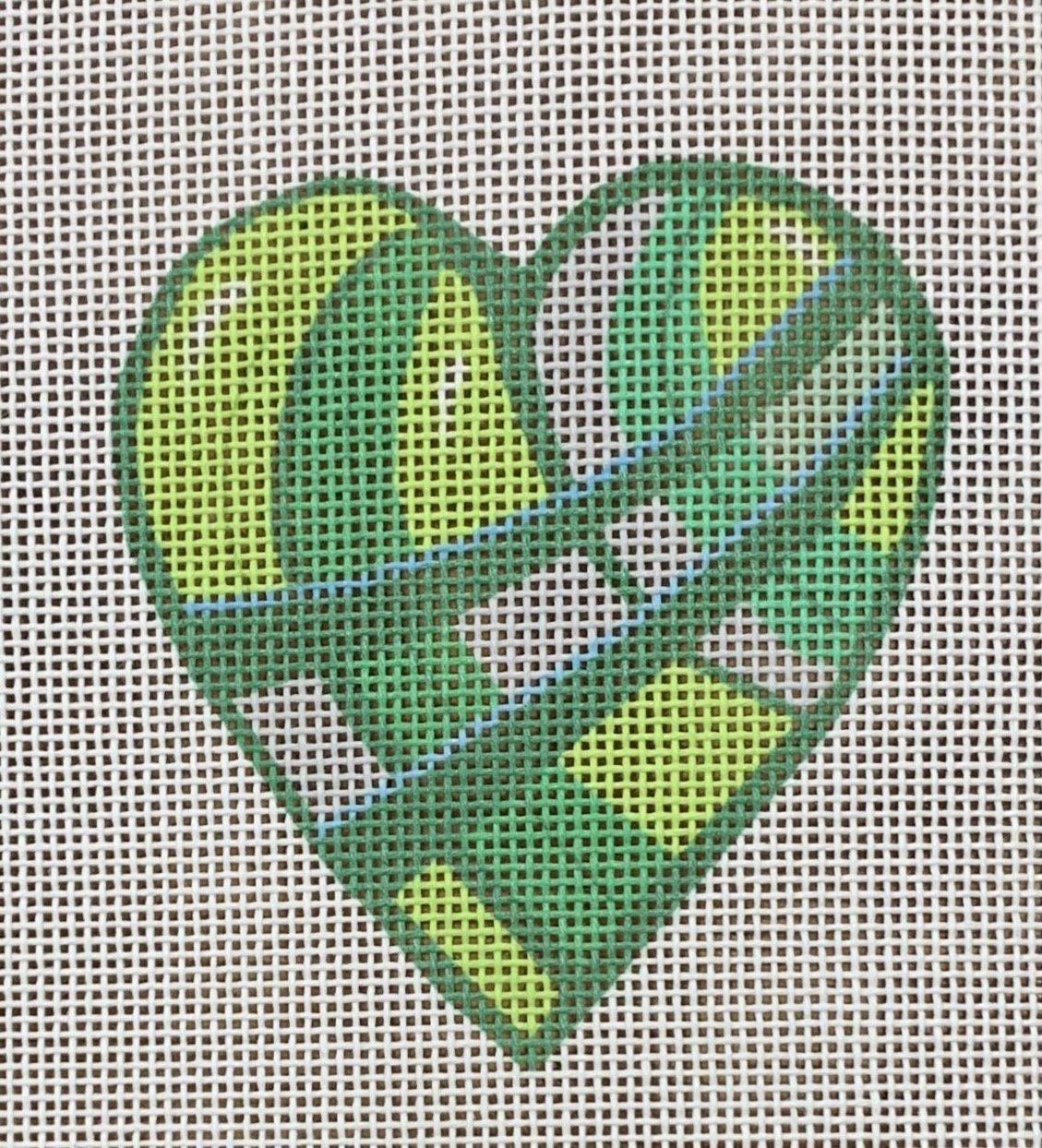 Green Paths Heart