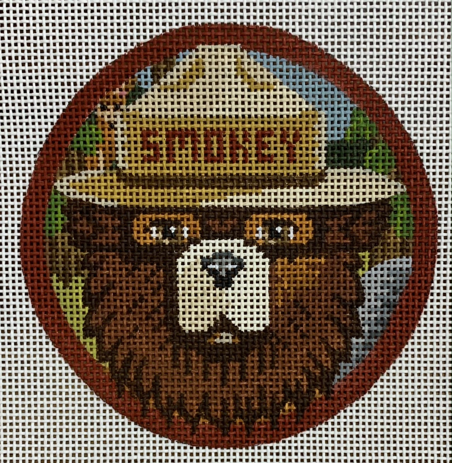 Smokey Bear Ornament