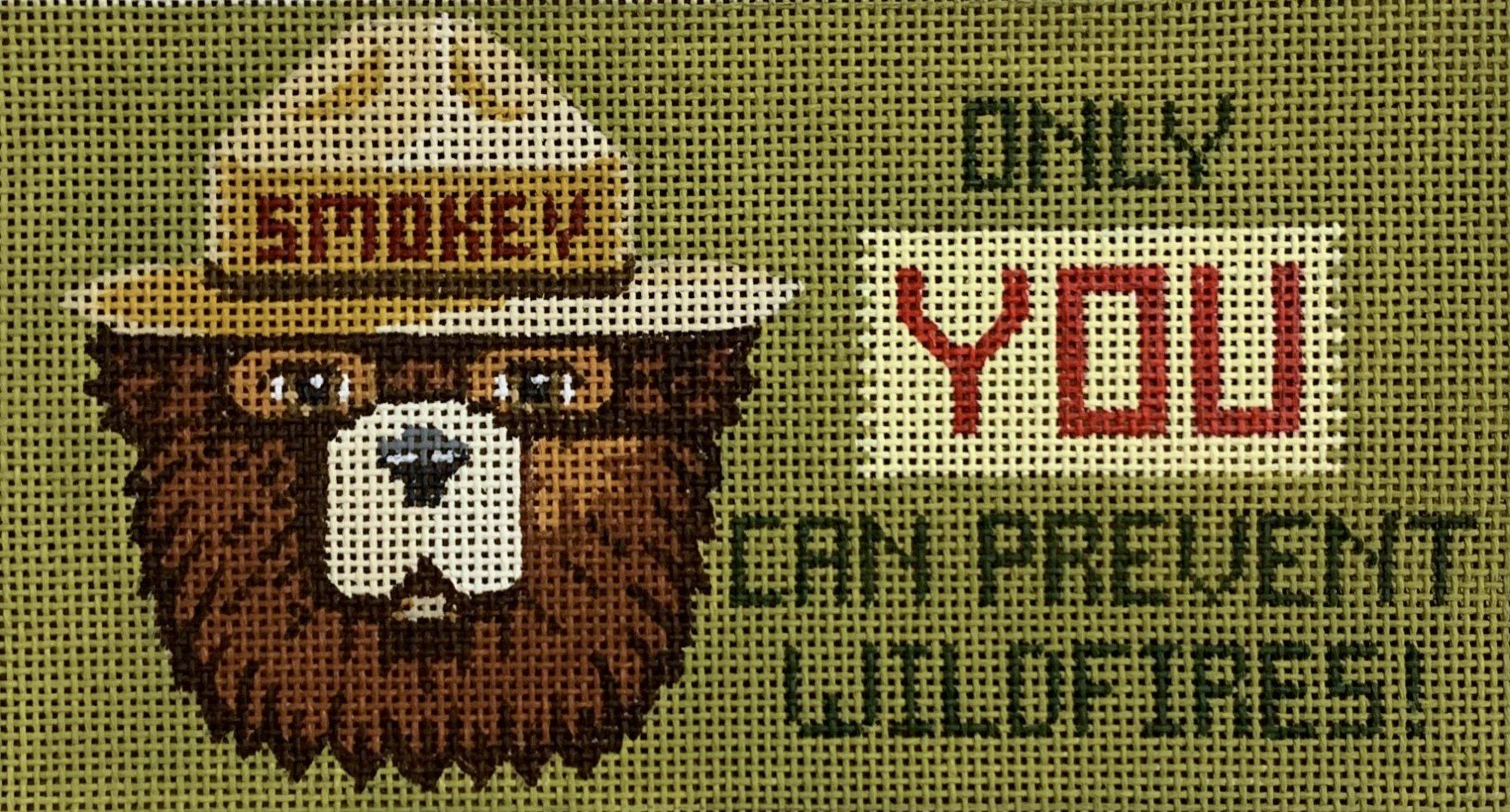 Smokey Bear Eyeglass Case