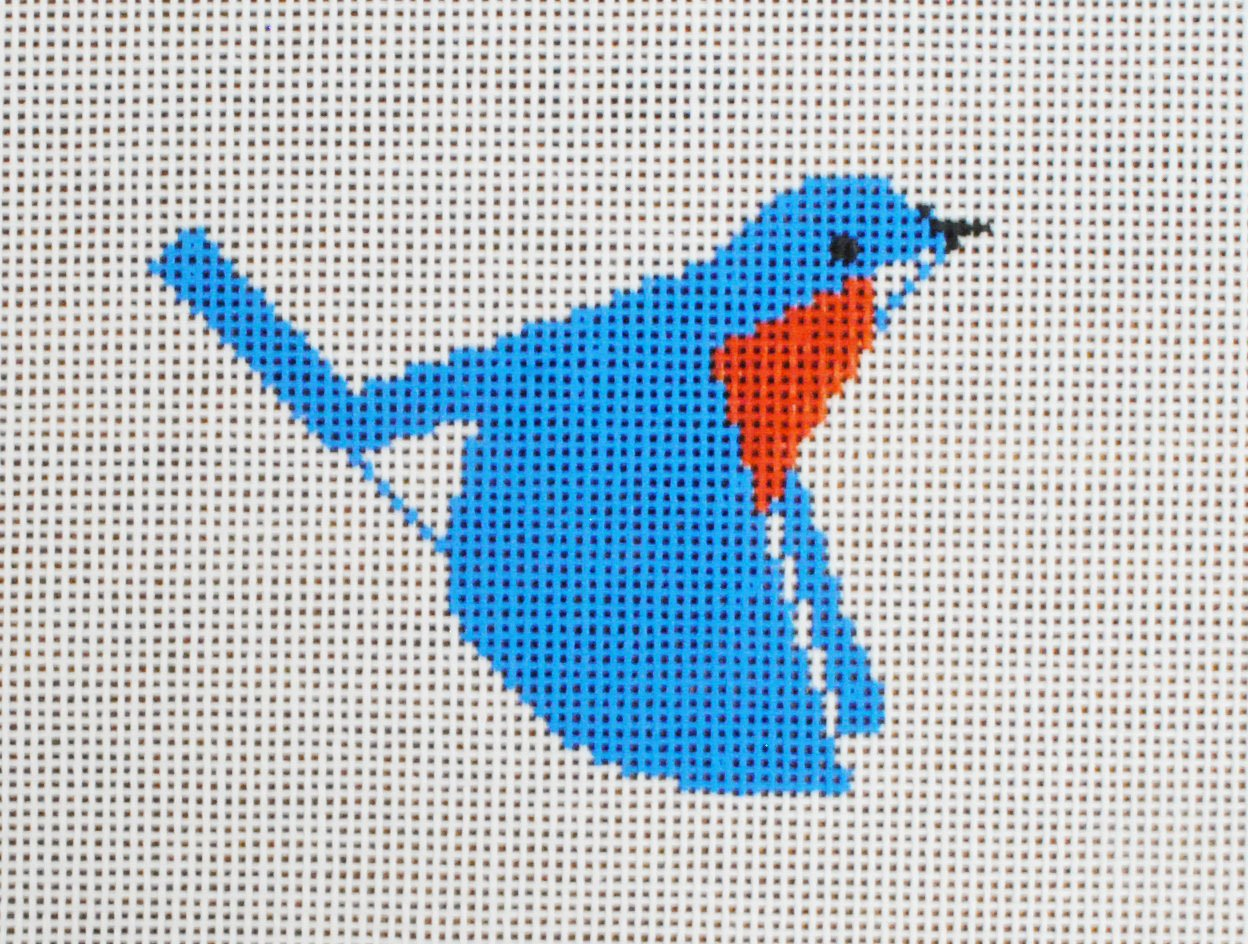 Charley Harper Blue Bird
