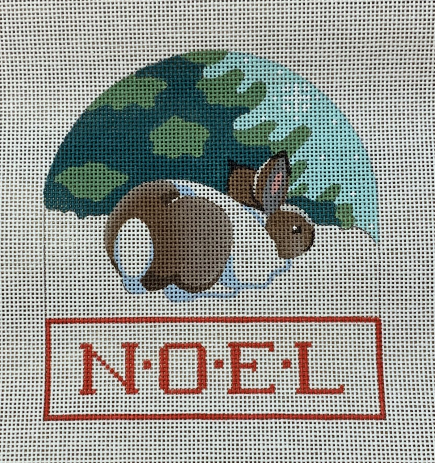 Rabbit Noel Ornament