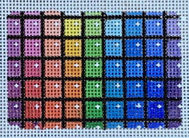 Rainbow Squares Insert