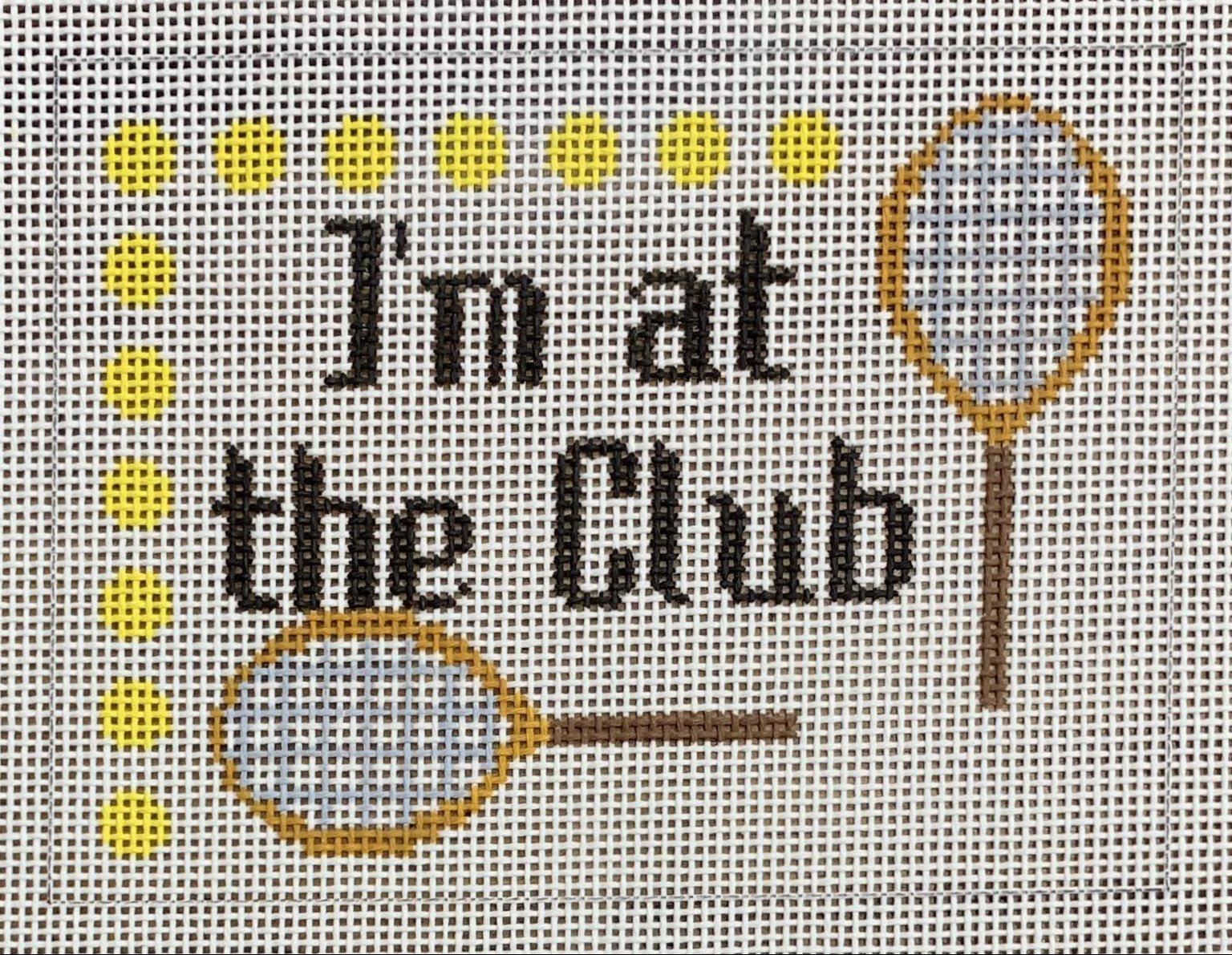 I'm at the Club - Tennis
