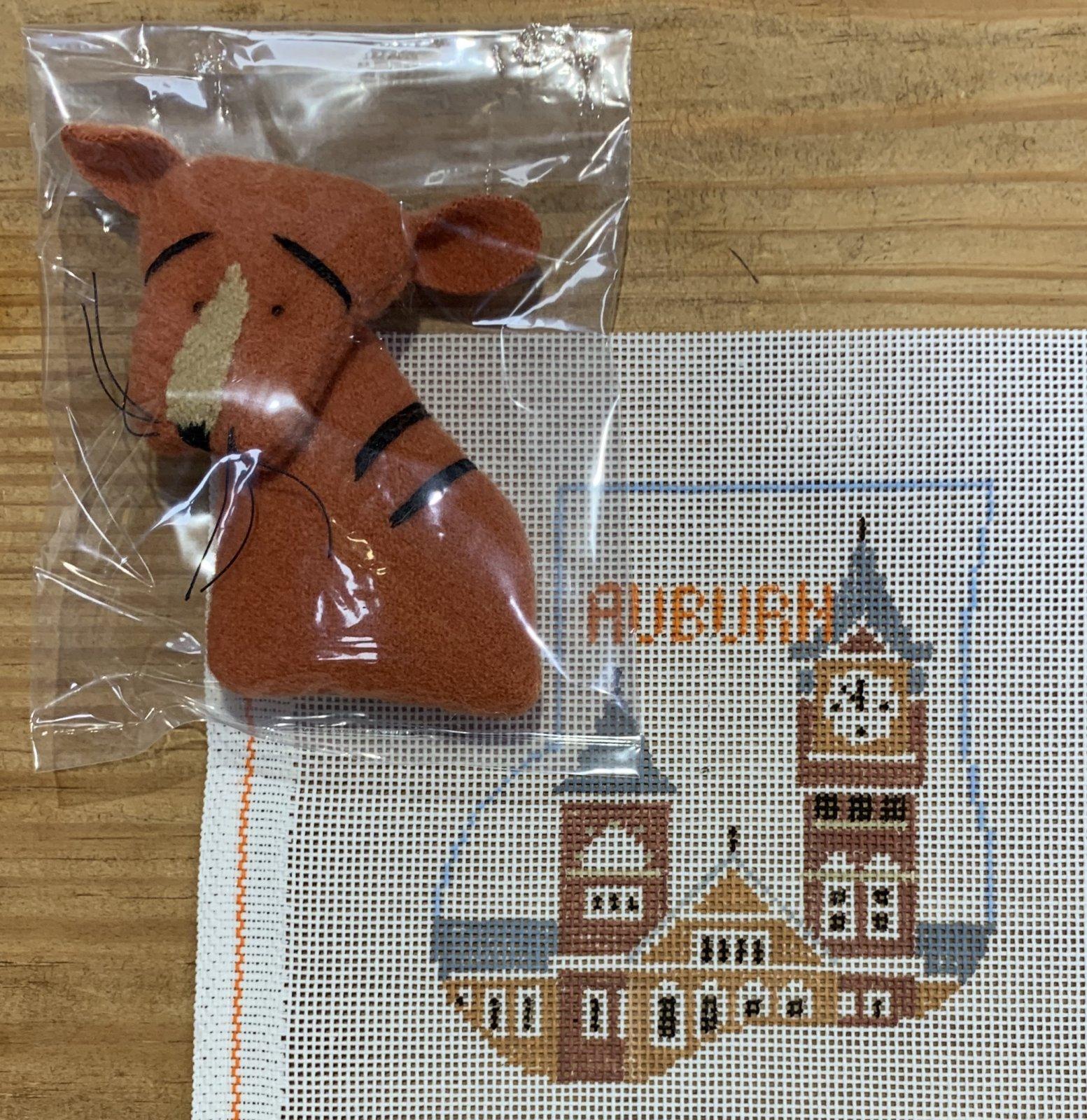 Auburn Sock w/Tiger