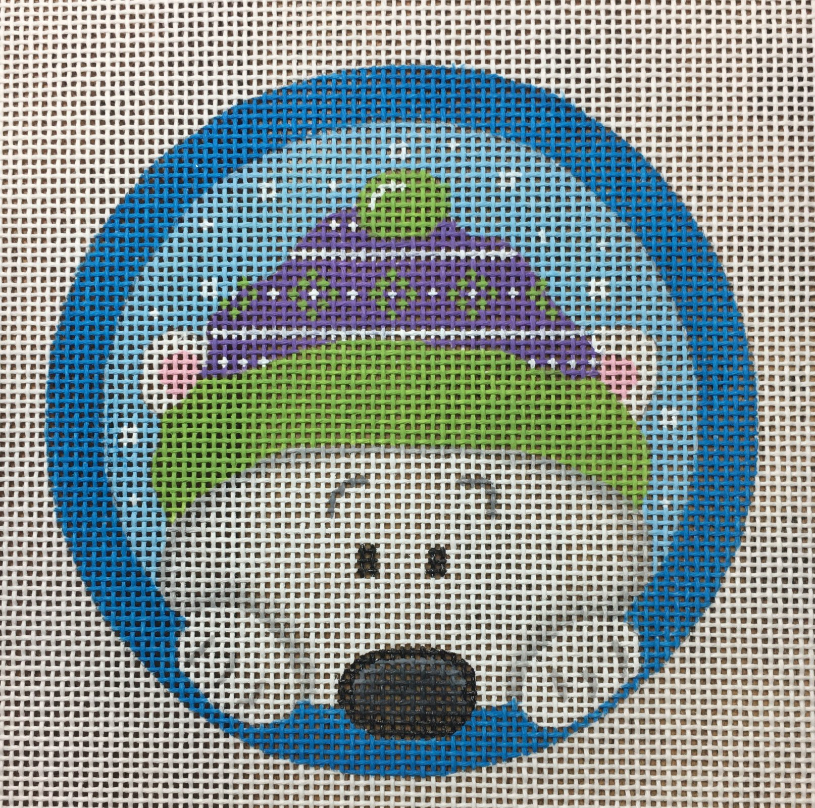 Peeking Polar Bear
