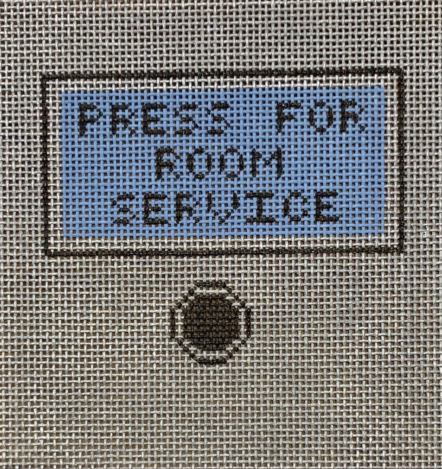 Press for Room Service