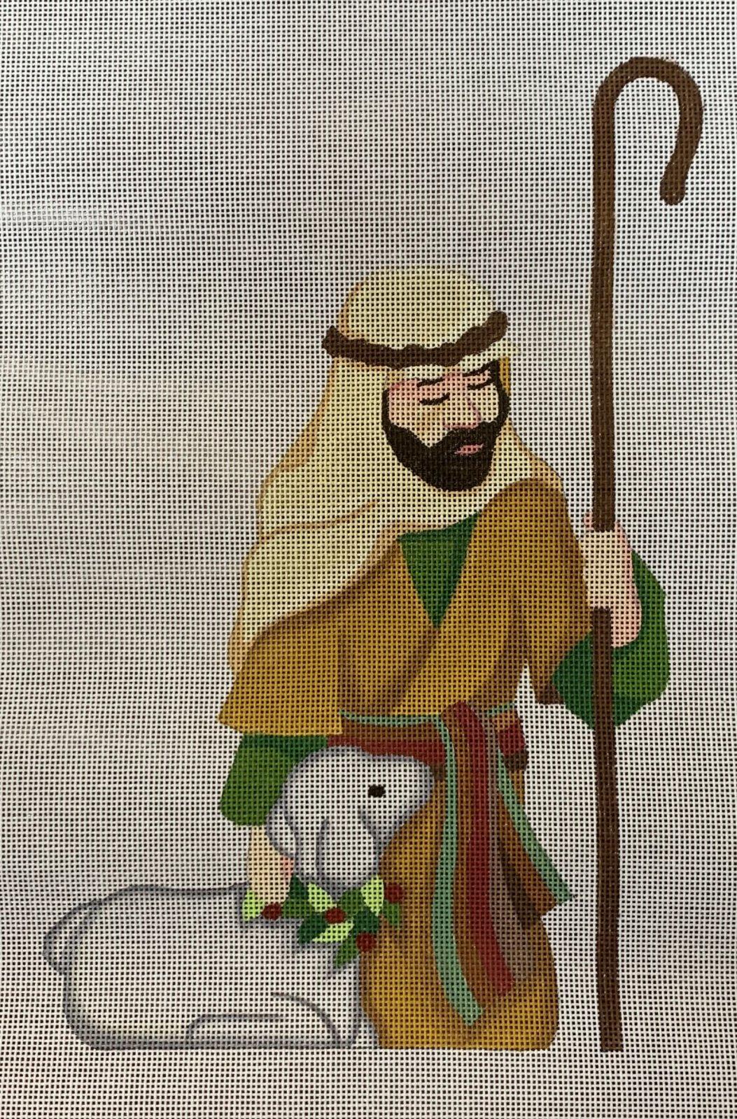 Kneeling Shepherd