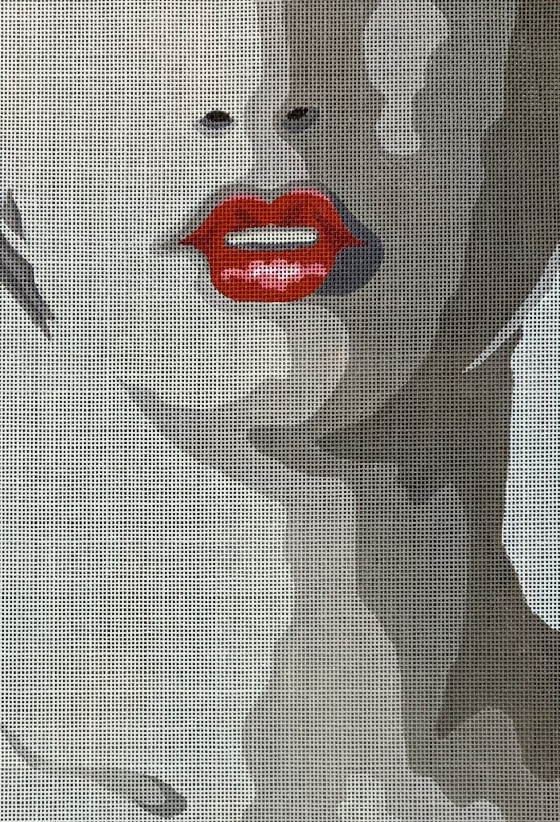 Silloutte Red Lips