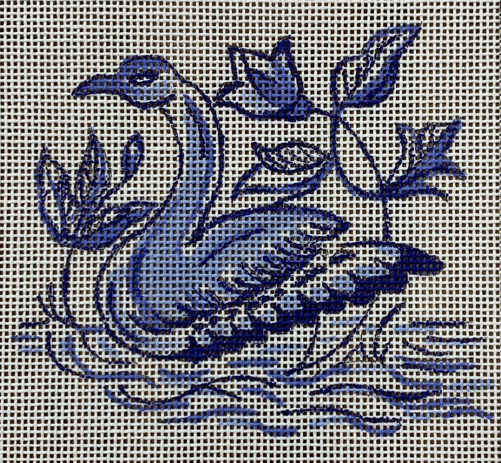 Delft Tiles Collection - Swan