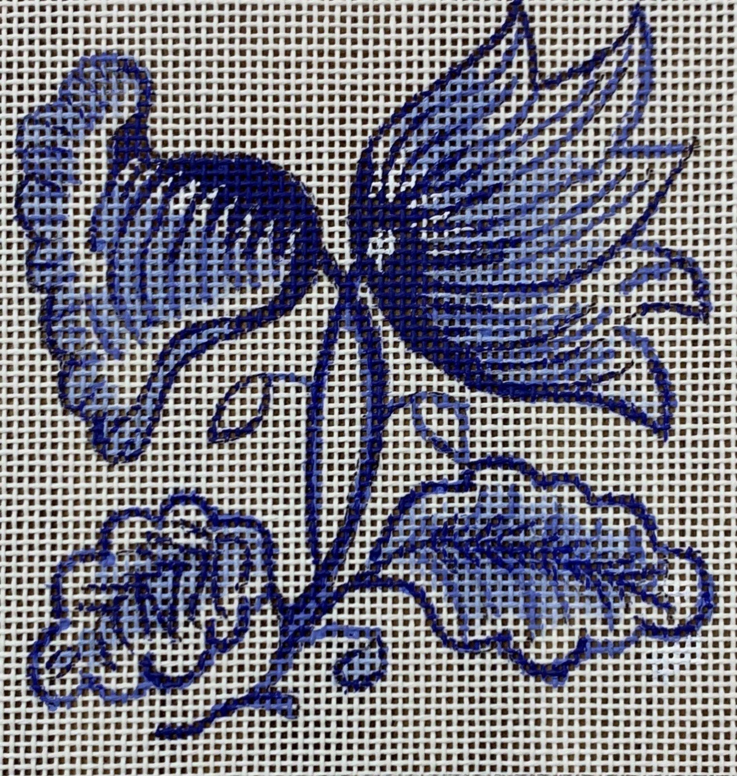 Delft Tiles Collection - Jacobean Bloom
