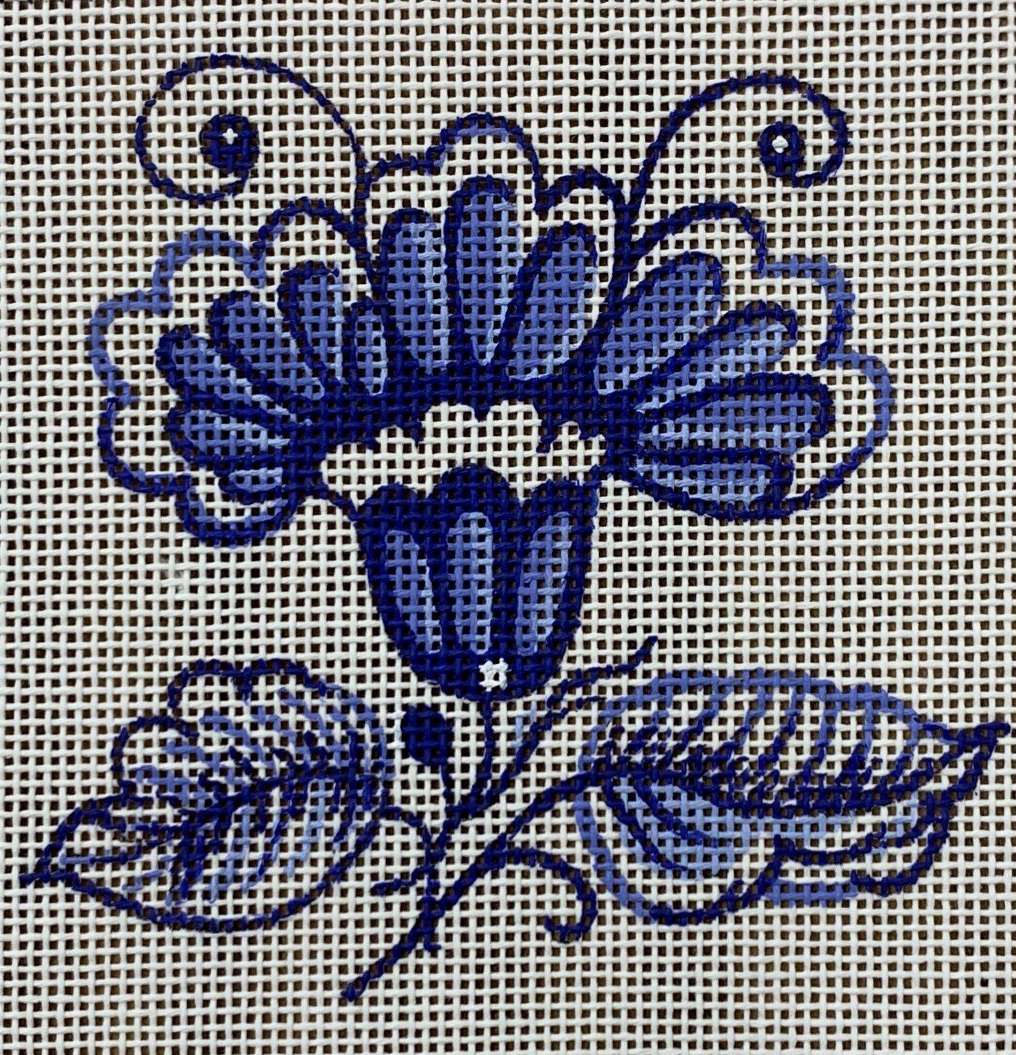 Delft Tiles Collection - Iris