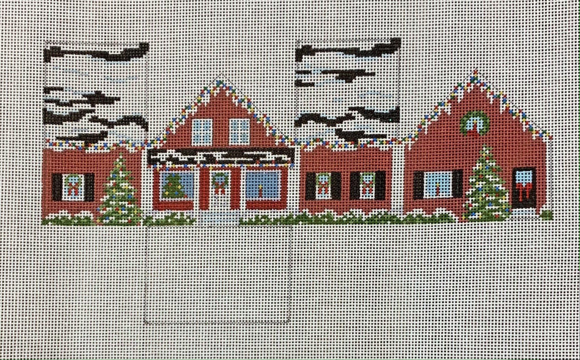 Red Christmas Mini House
