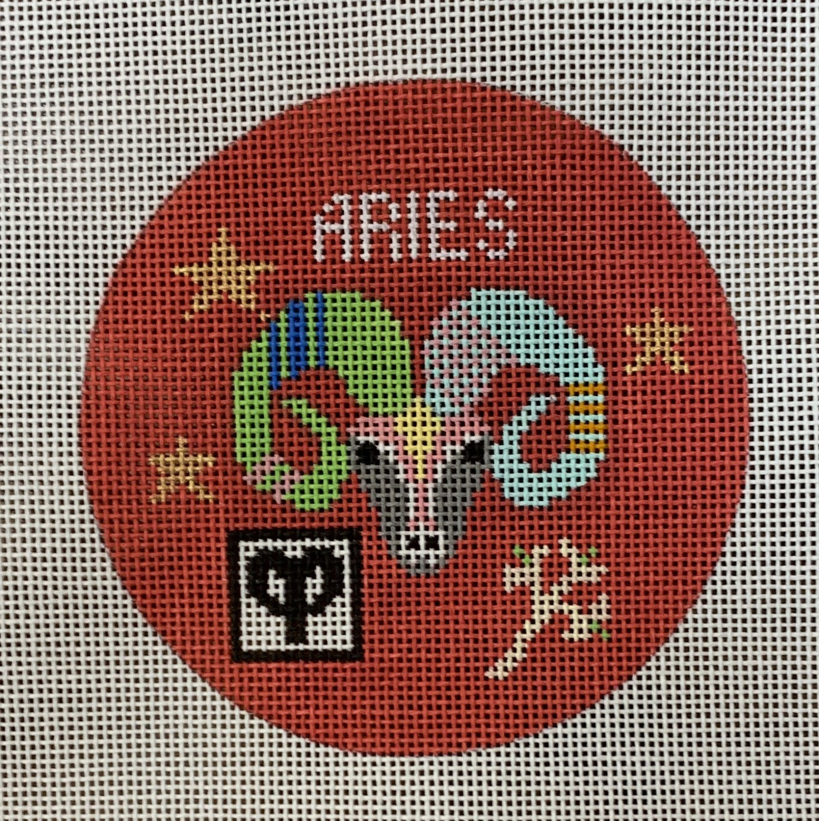 Aries Zodiac Ornament