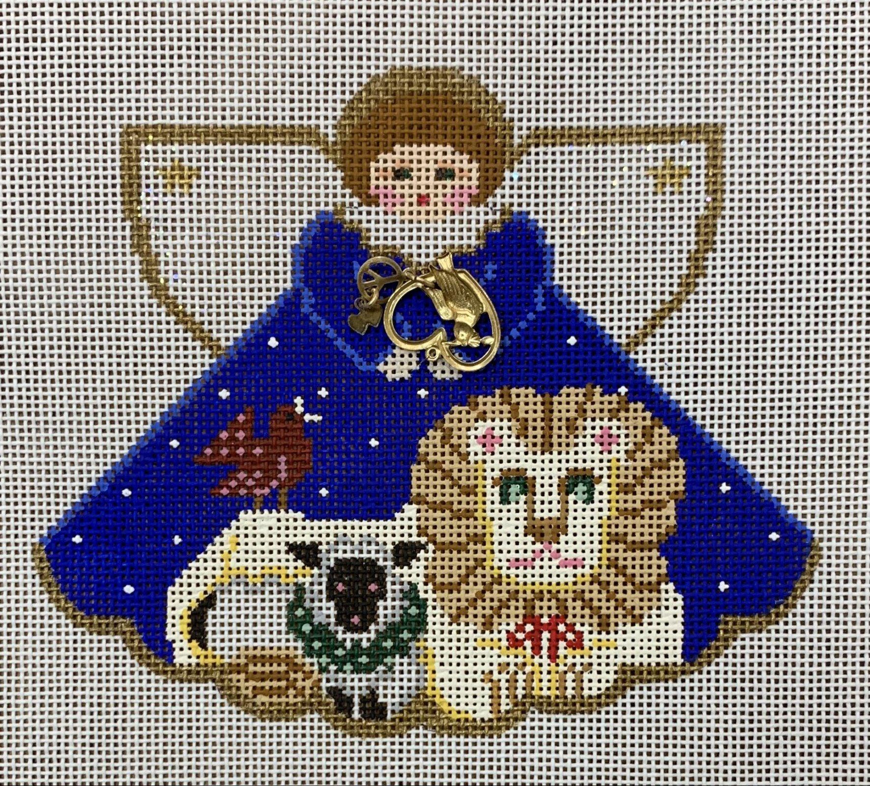 Angel Lion and Lamb