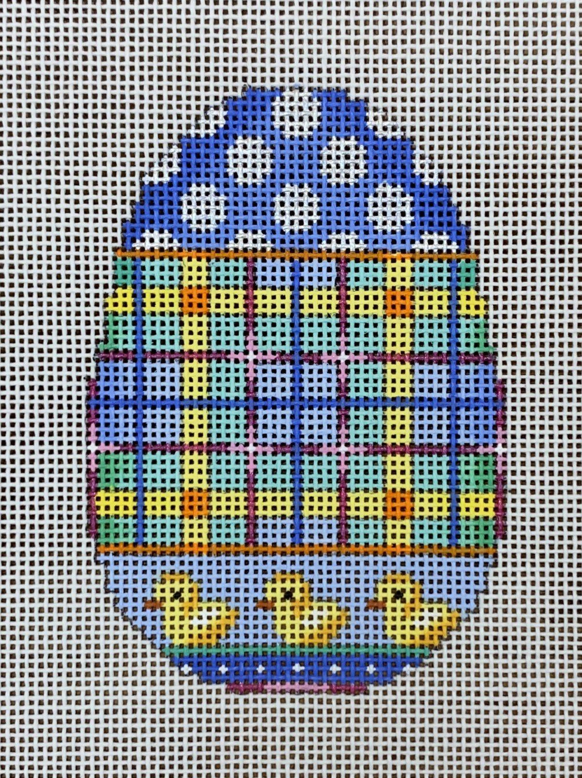 ATTSEG300 Chick/Dots/Plaid Egg