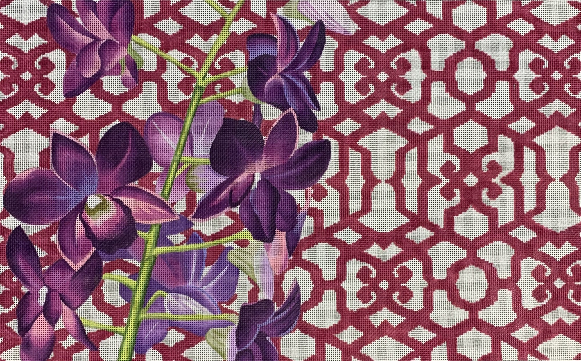 Orchid/Trellis