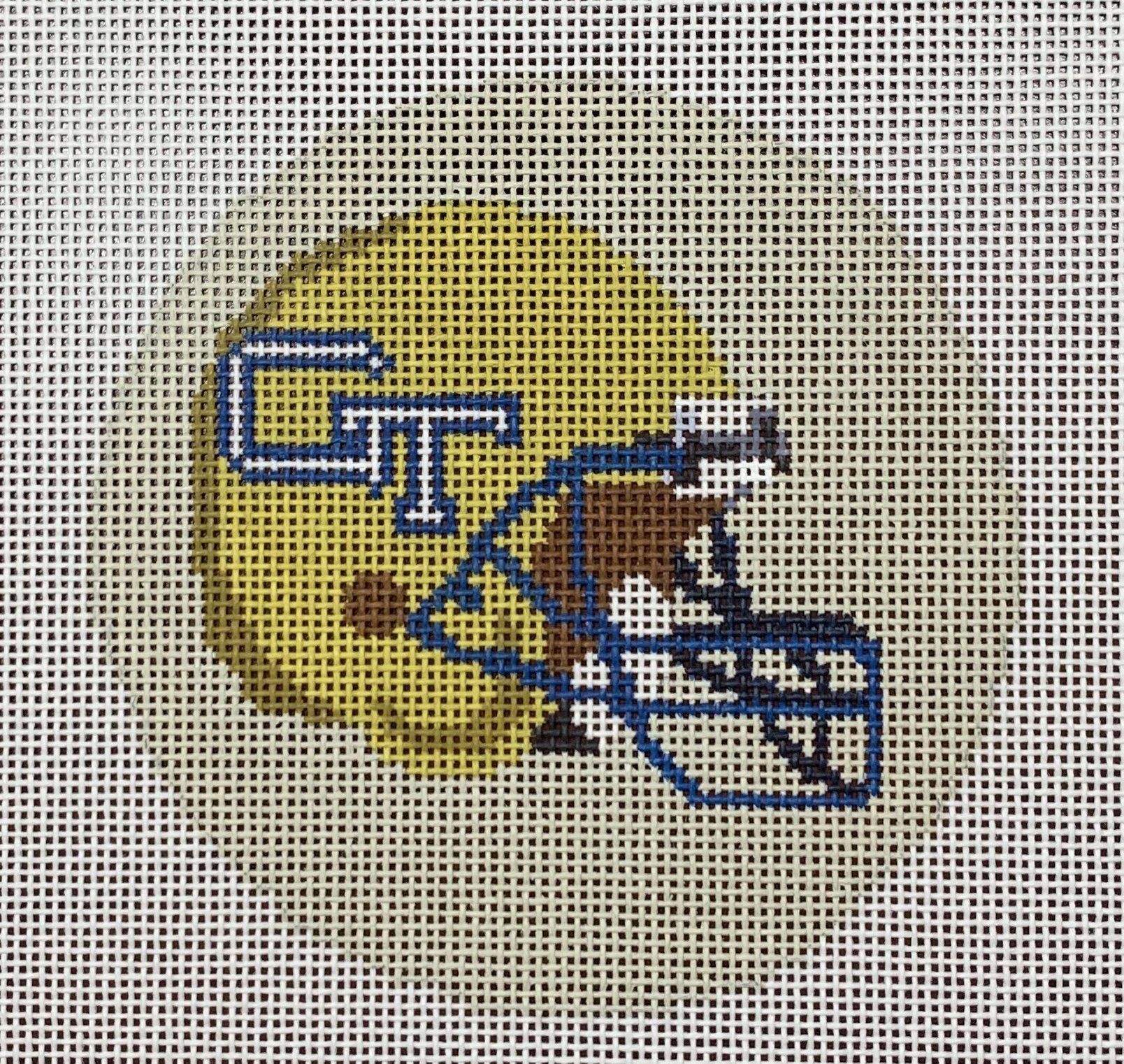 GT Football Helmet Round