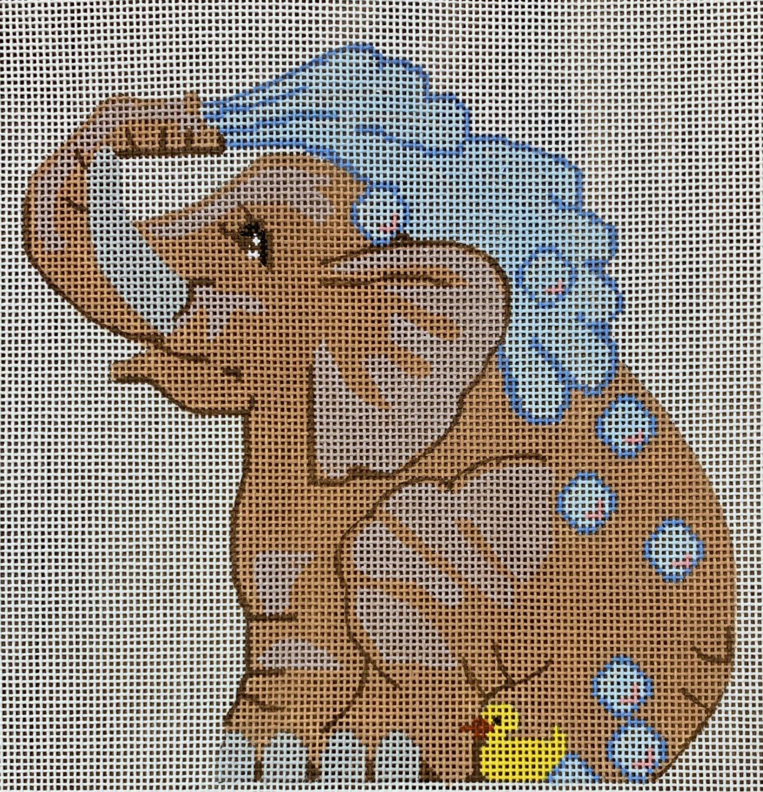LL522B Bathing Elephant
