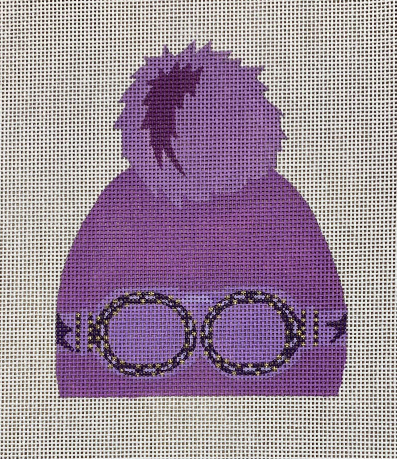 Purple Hat w/ Goggles
