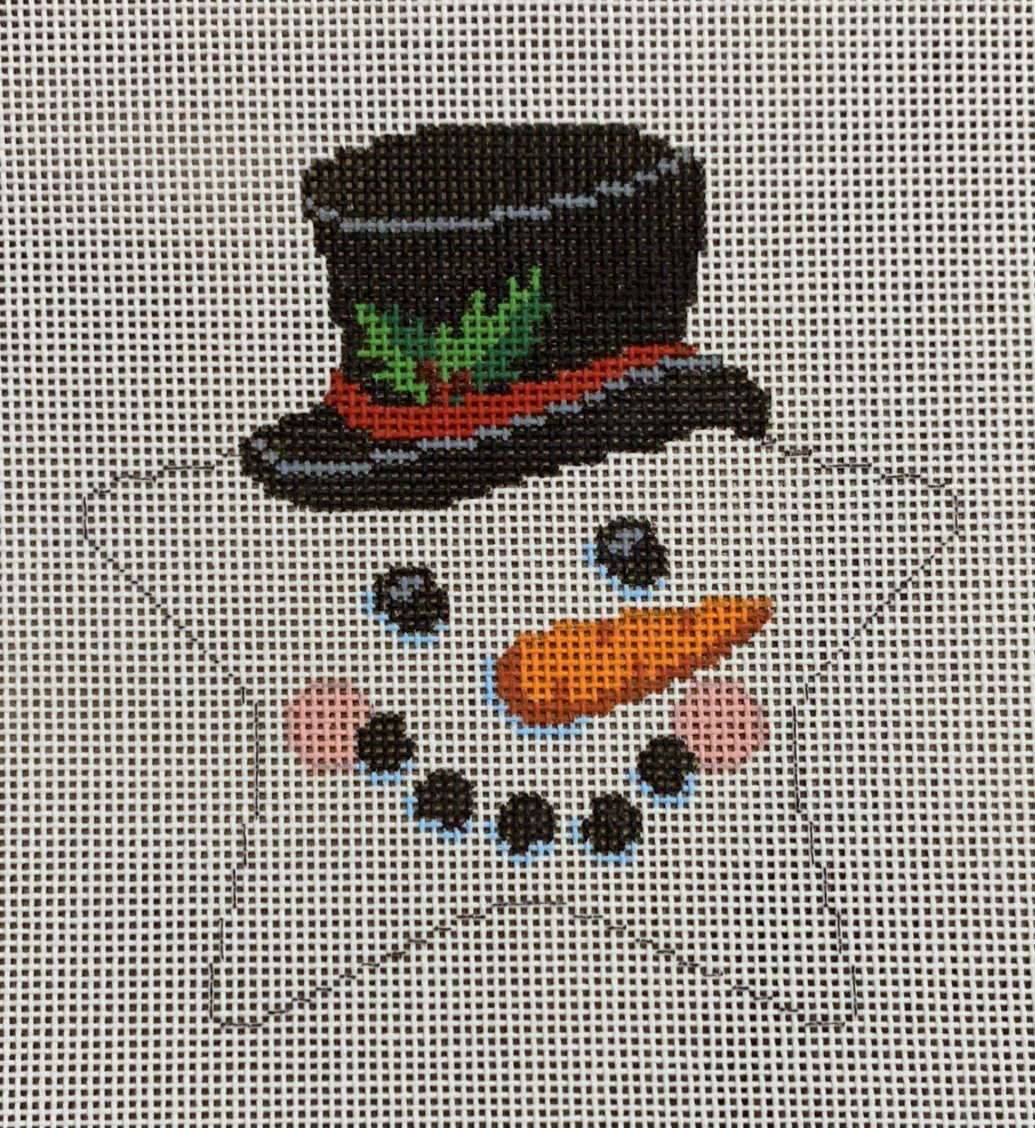 Star, Snowman Face, Top Hat