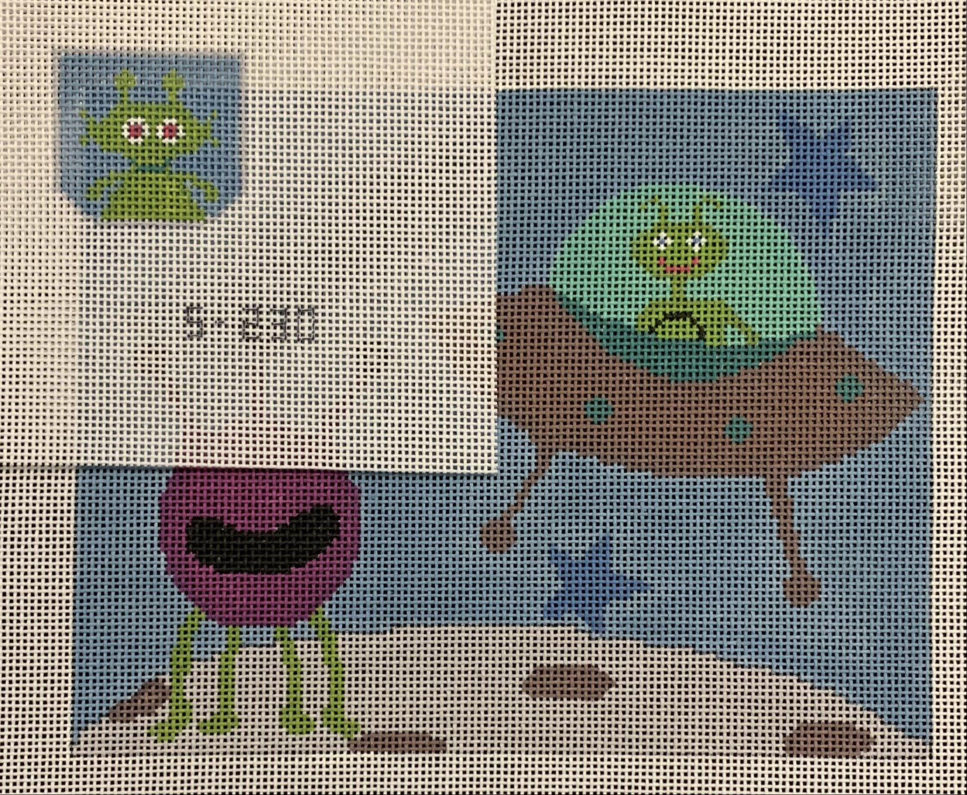 Martian & Monster Tooth Fairy Pillow