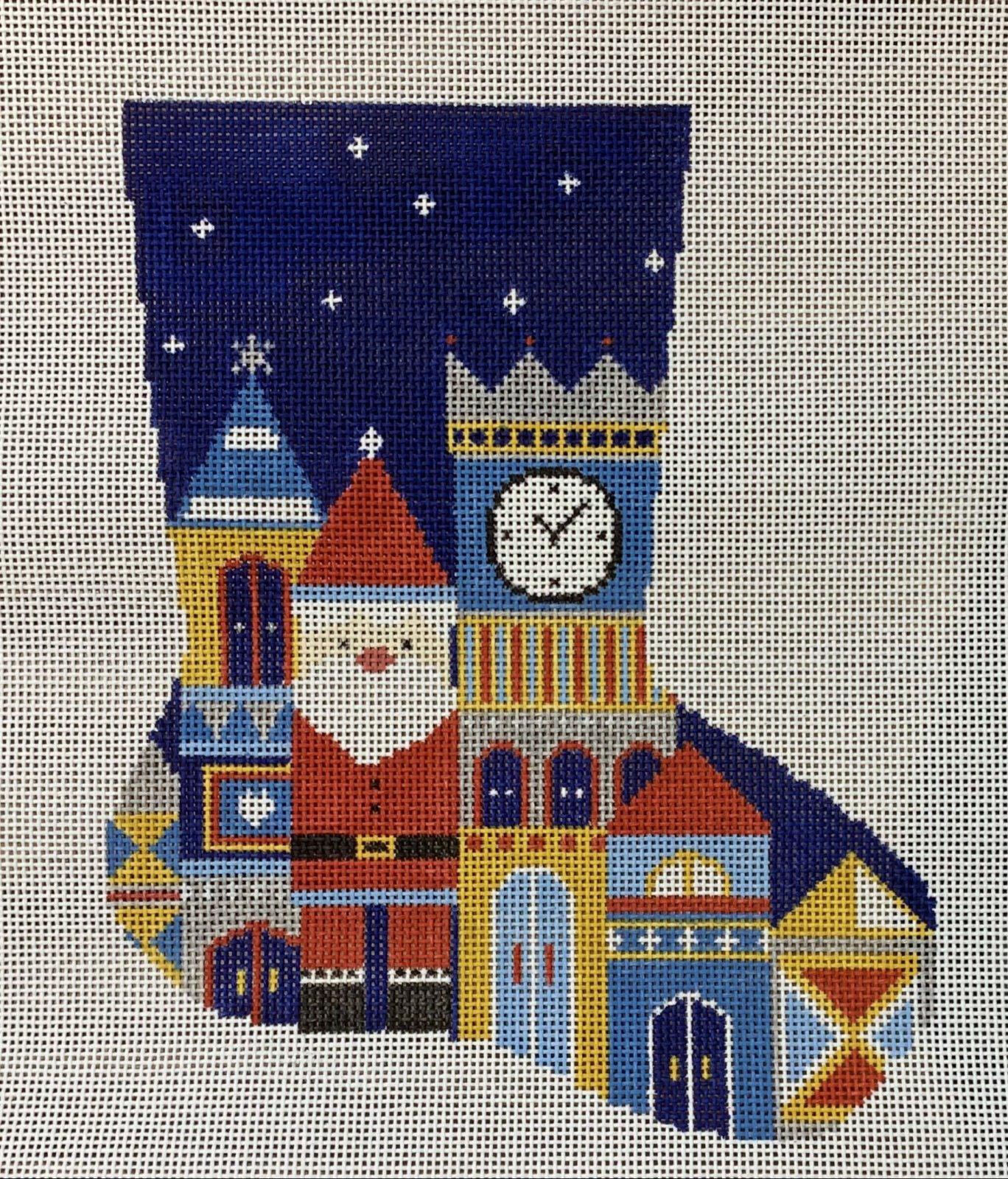Santa's Castle Stocking
