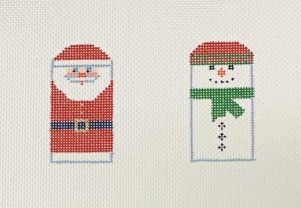 Santa/Snowman Minis Red/Green