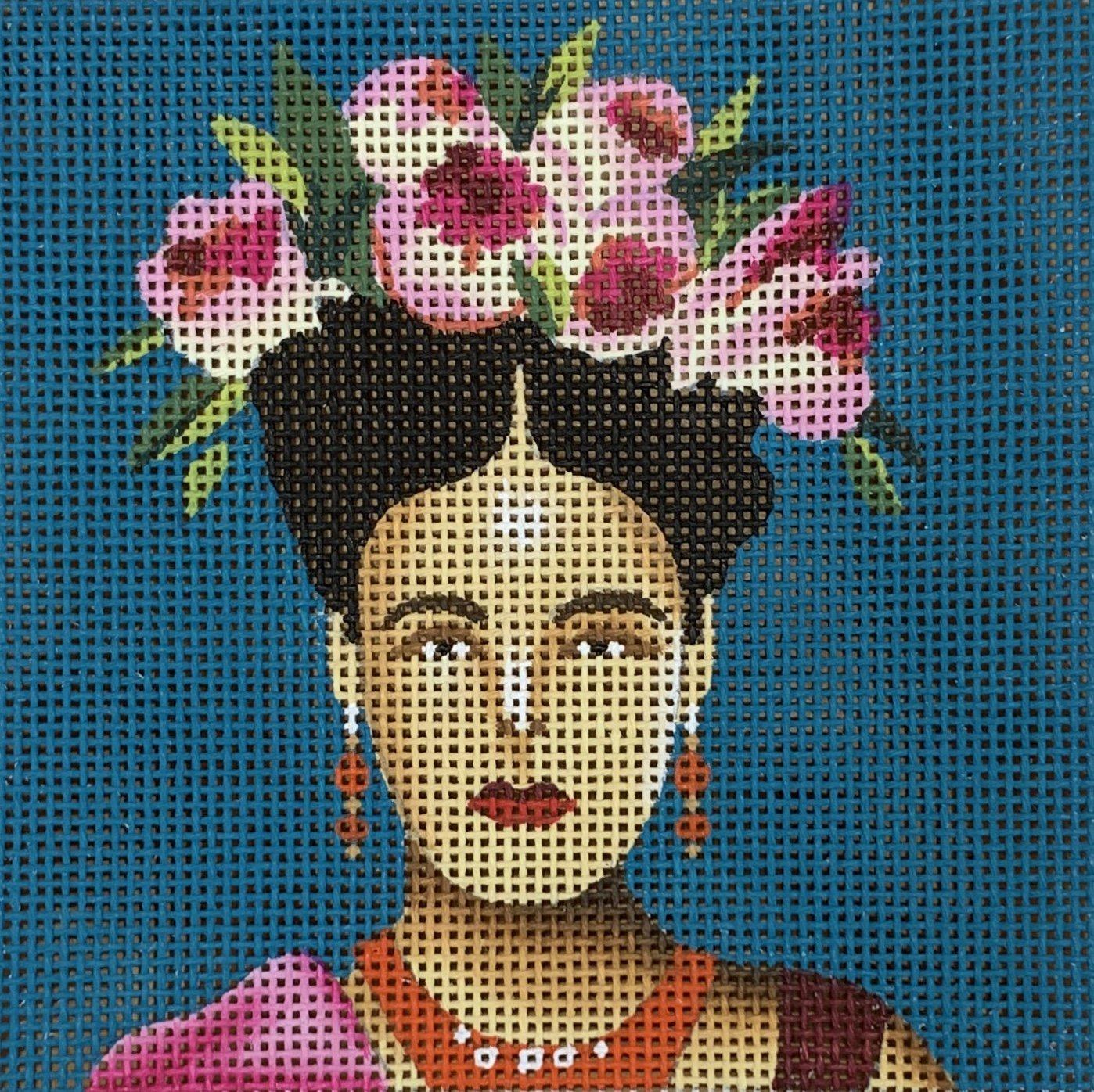 Woman w/ Floral Crown Insert