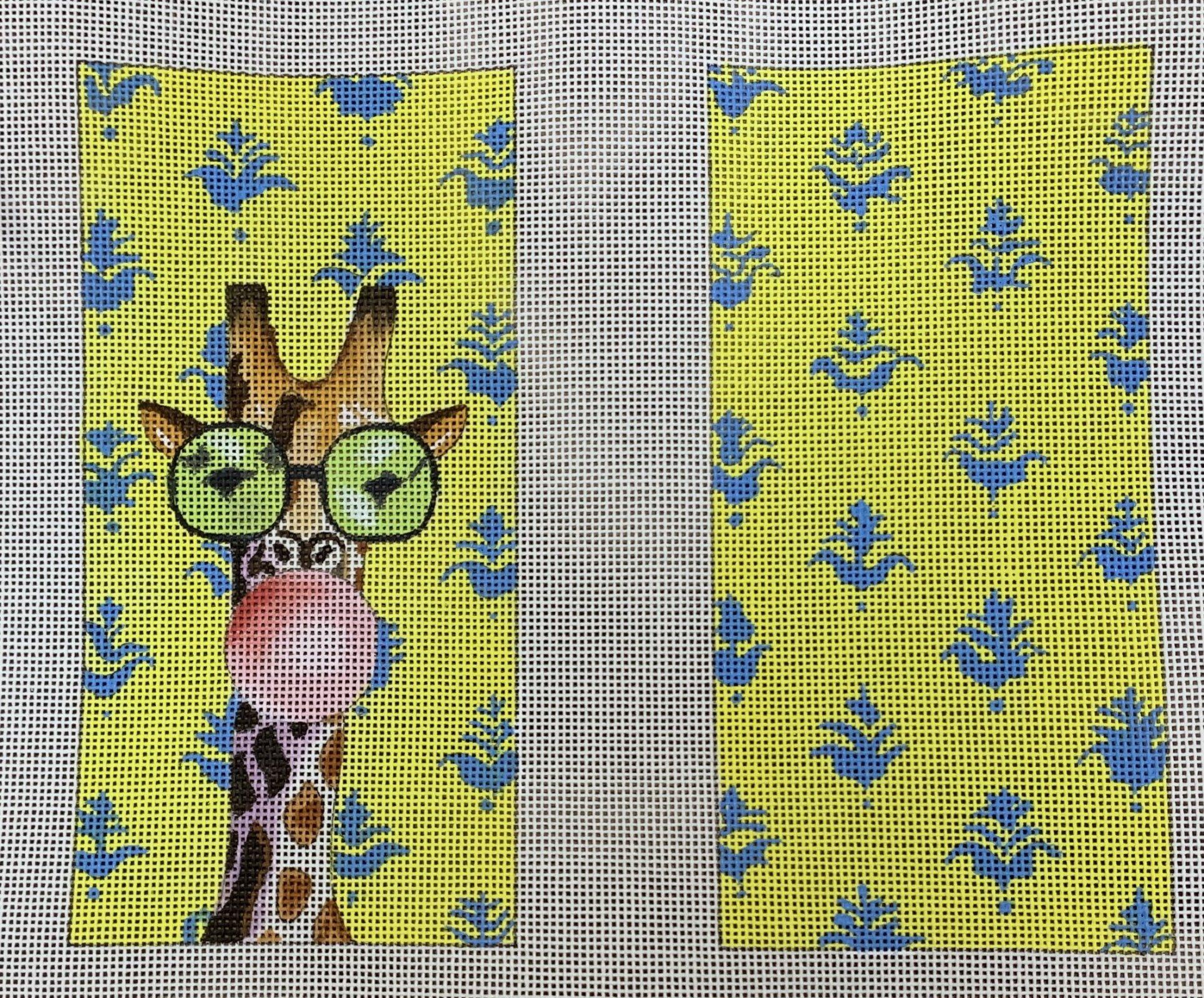 Bubble Gum Giraffe Eyeglass Case
