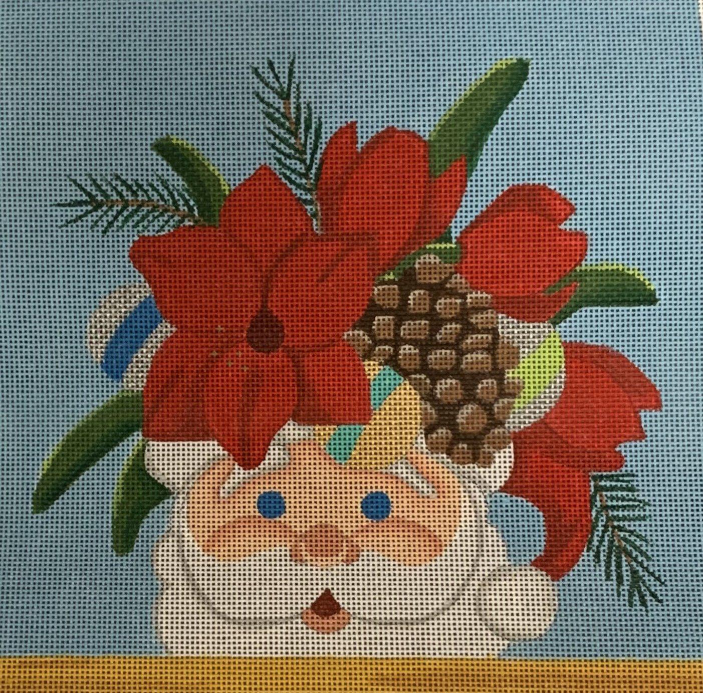 Santa Mug Floral