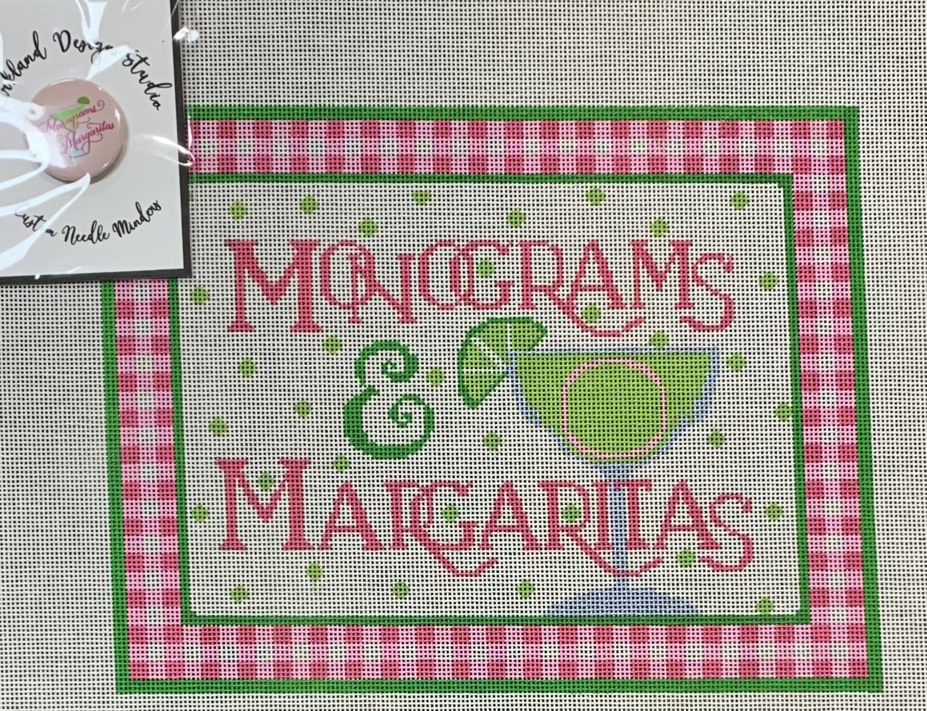 Monograms & Margaritas w/ Needleminder