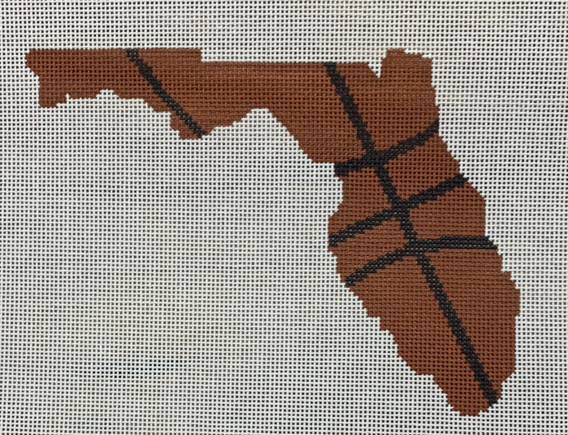 Basketball State Shaped - Florida