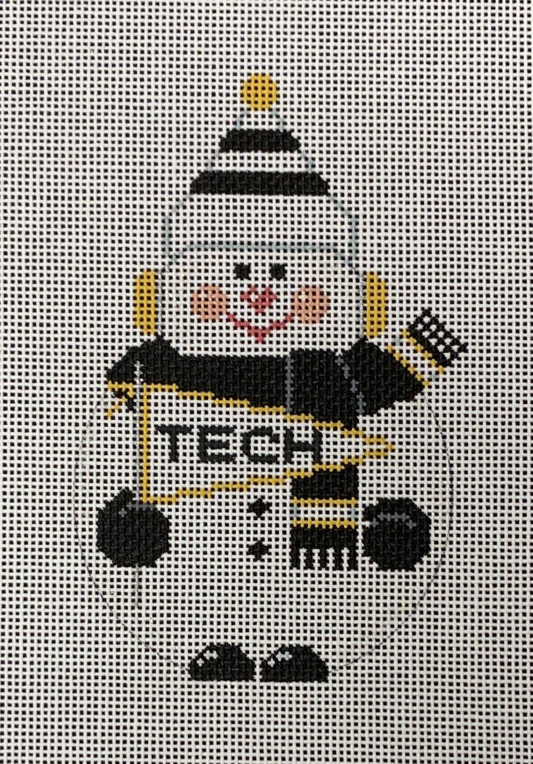 GA Tech Snowman