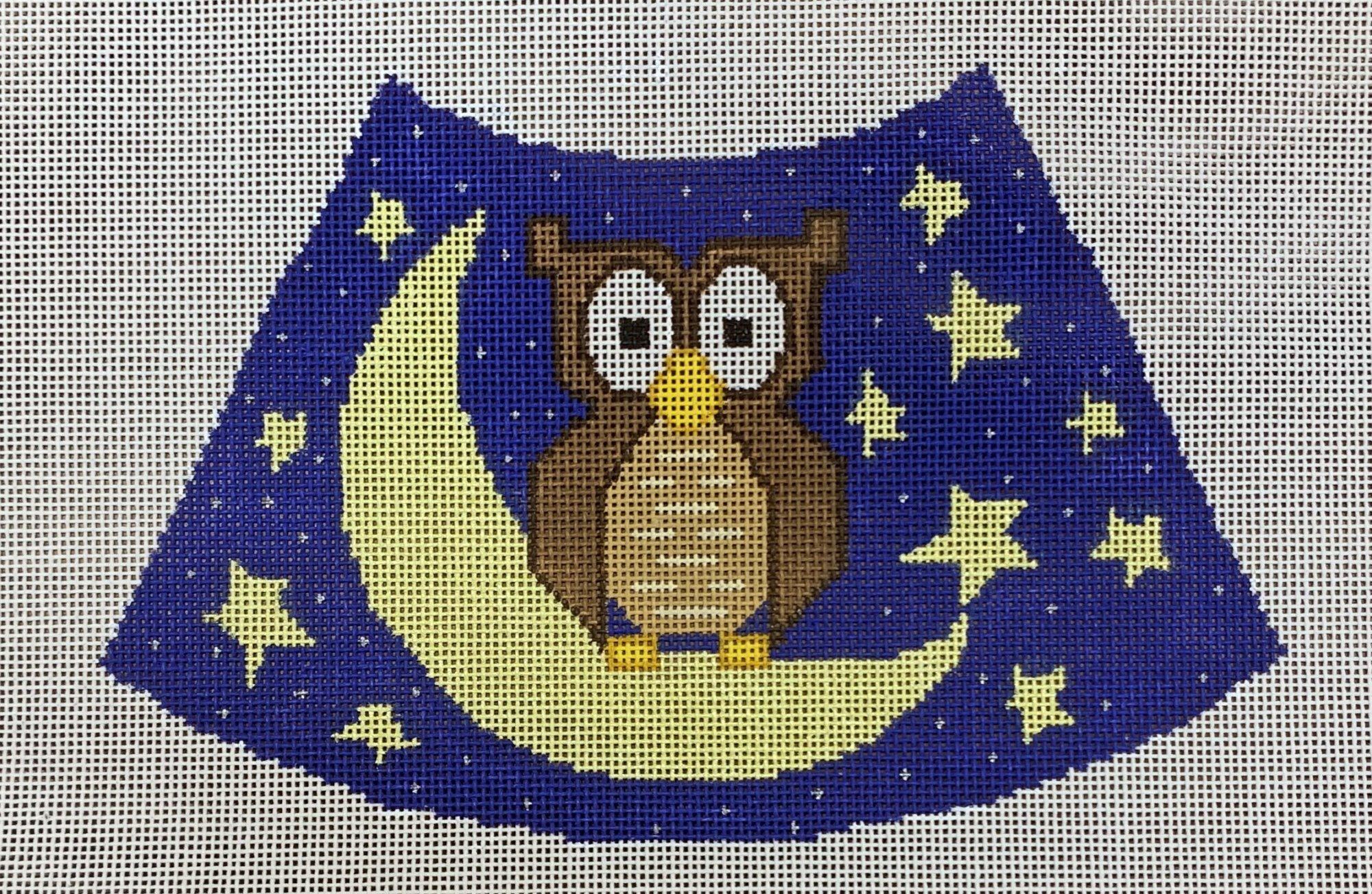Owl, Moon and Stars