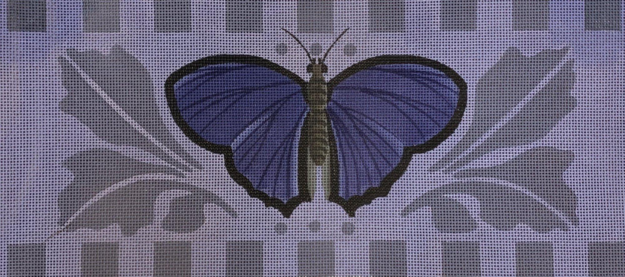 Purple Butterfly Bolster