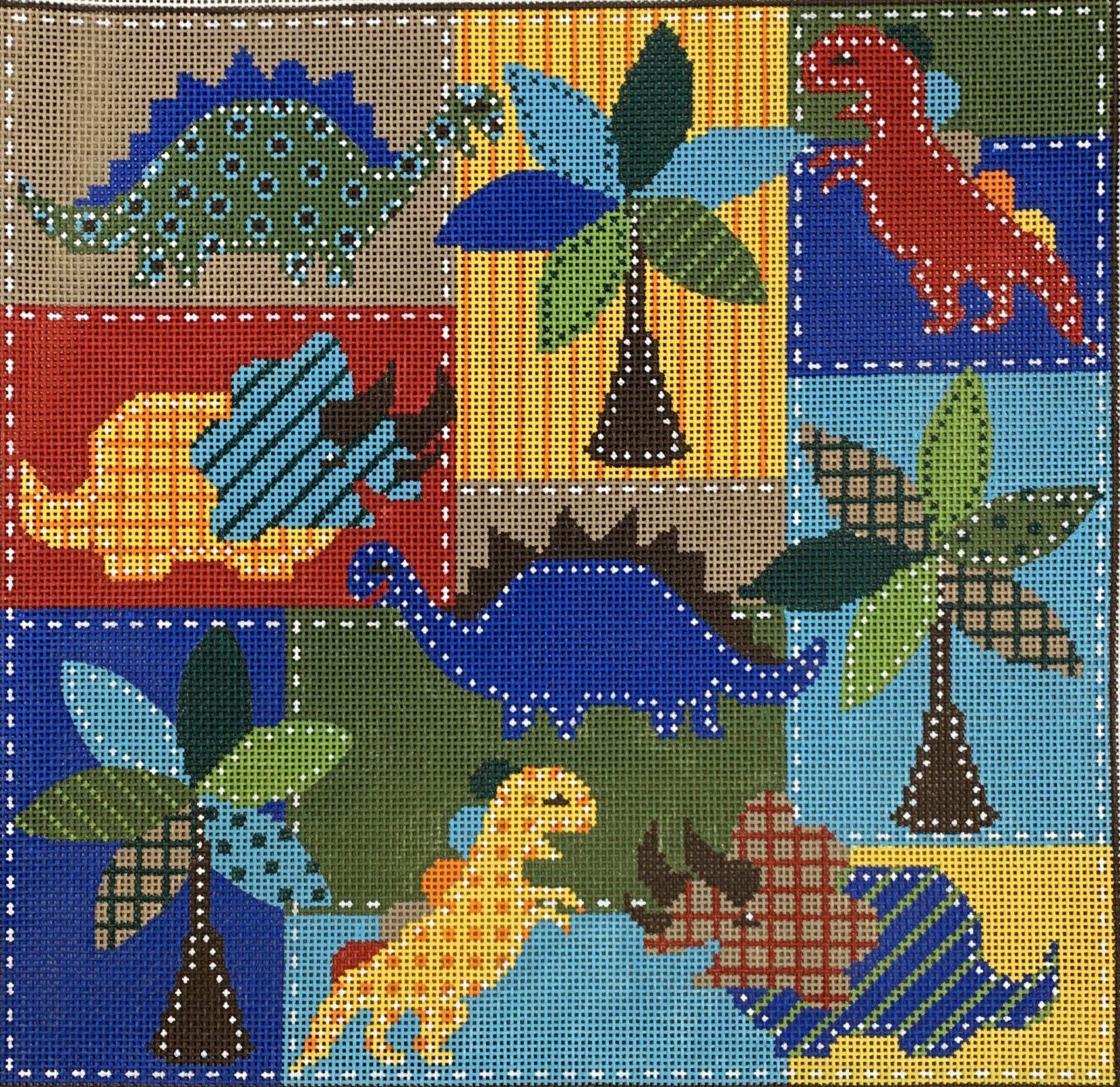 Dinosaur Collage
