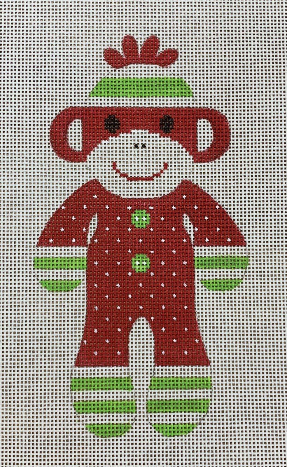 Sock Monkey - Christmas PJs