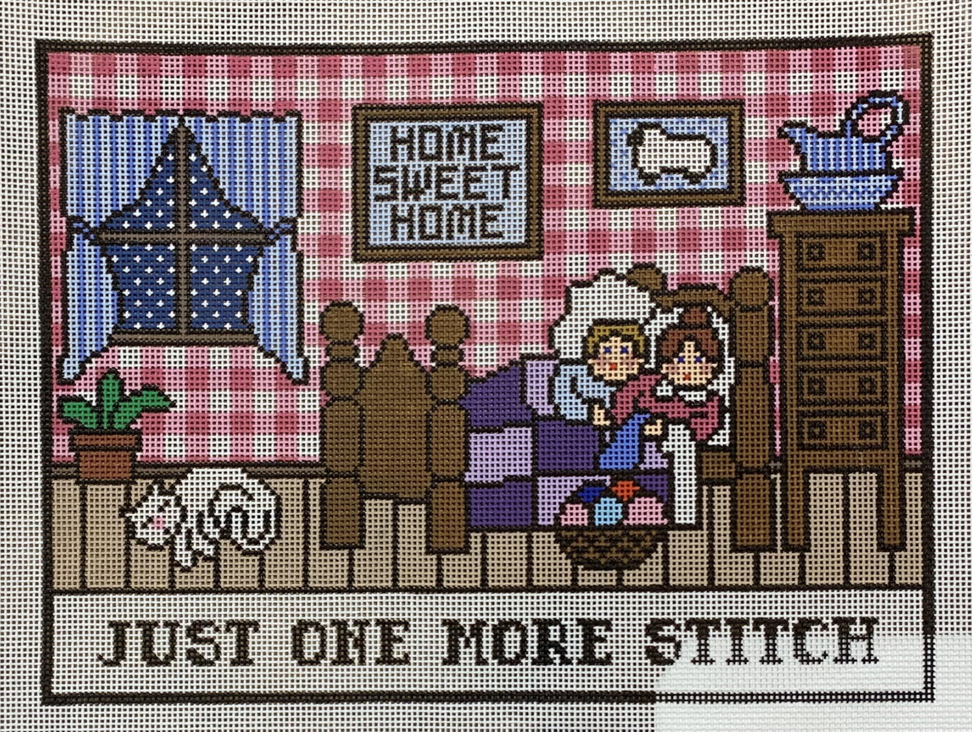Just One More Stitch