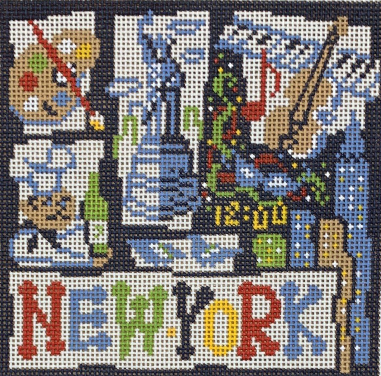 Small Retro New York