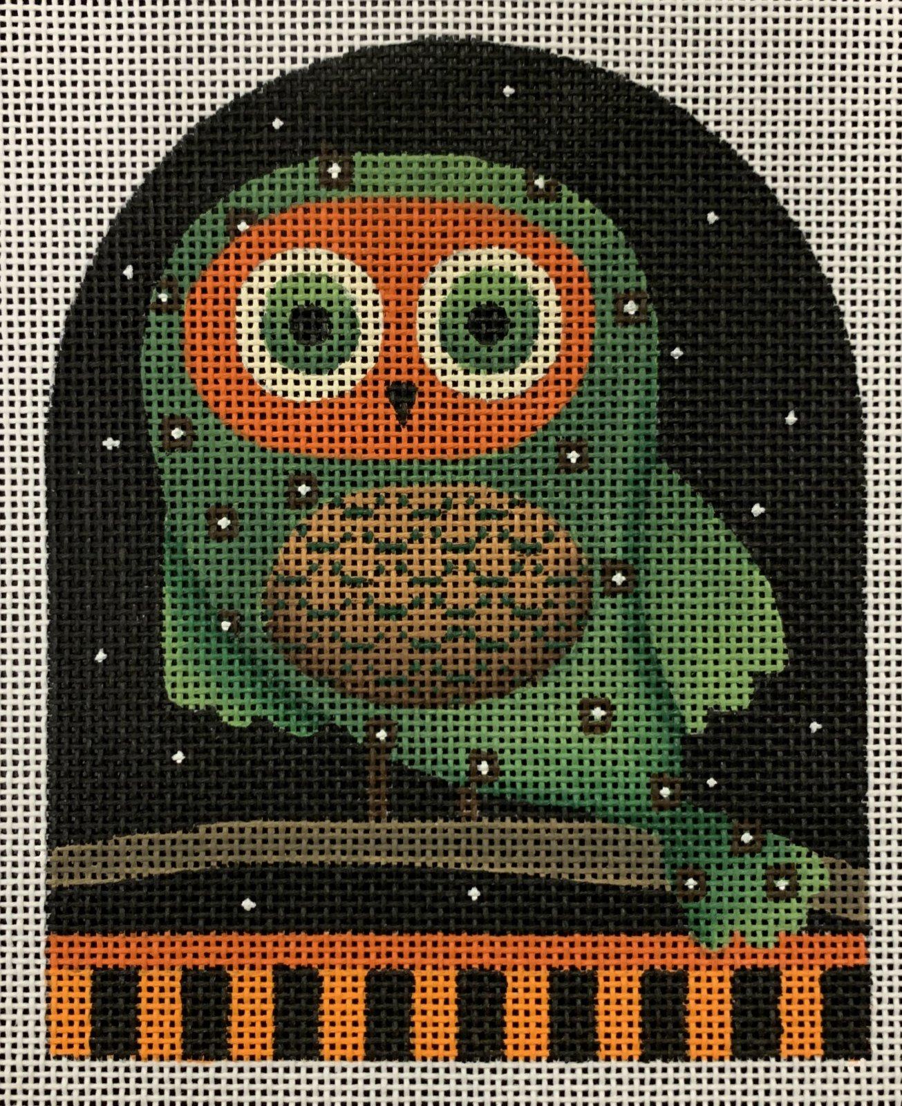 Orange-Faced Owl Dome