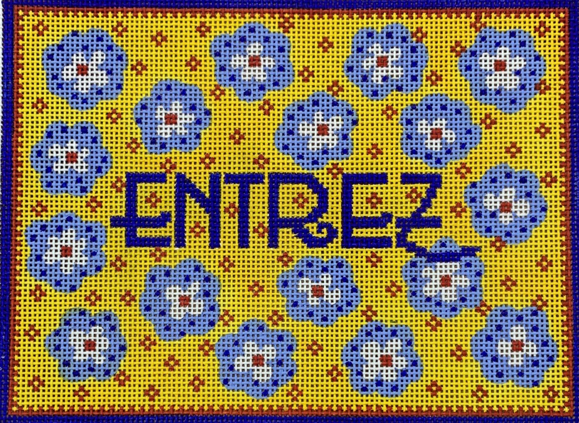 Entrez Provencal Door Hanger