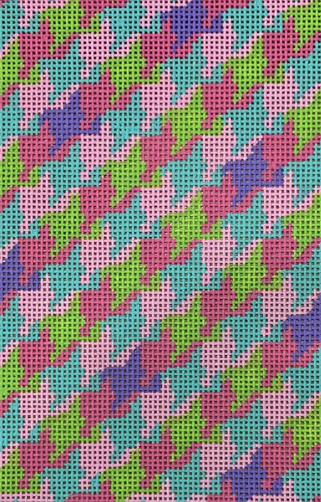 Colorful Houndstooth