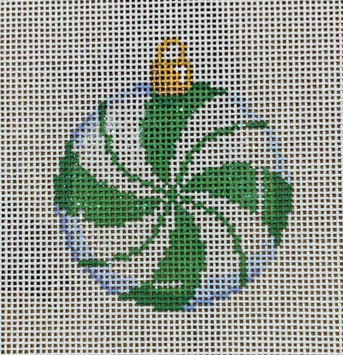 ATTSCT1451G Green Peppermint Mini Ball  2.25x2.25  18