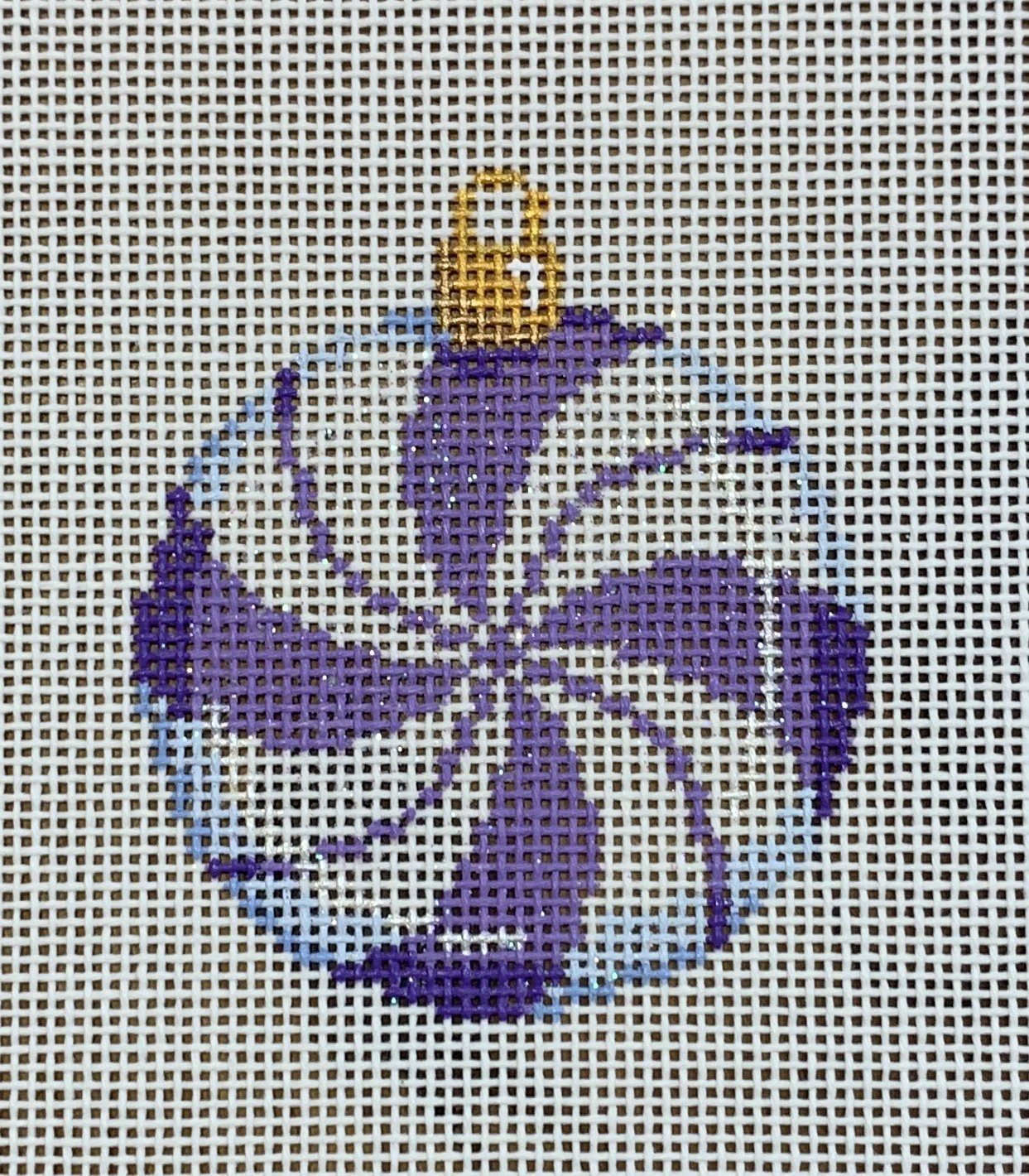 ATTSCT1451P Purple Peppermint Mini Ball 2.25x2.25  18