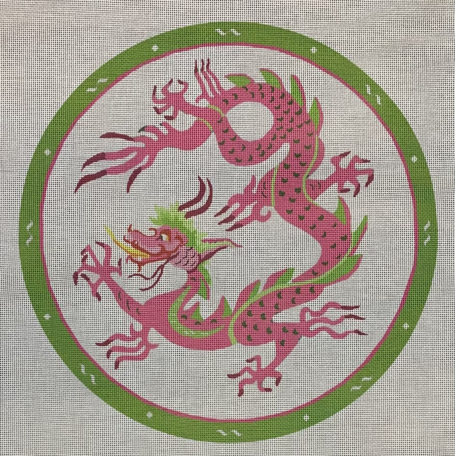 Pink & Green Dragon