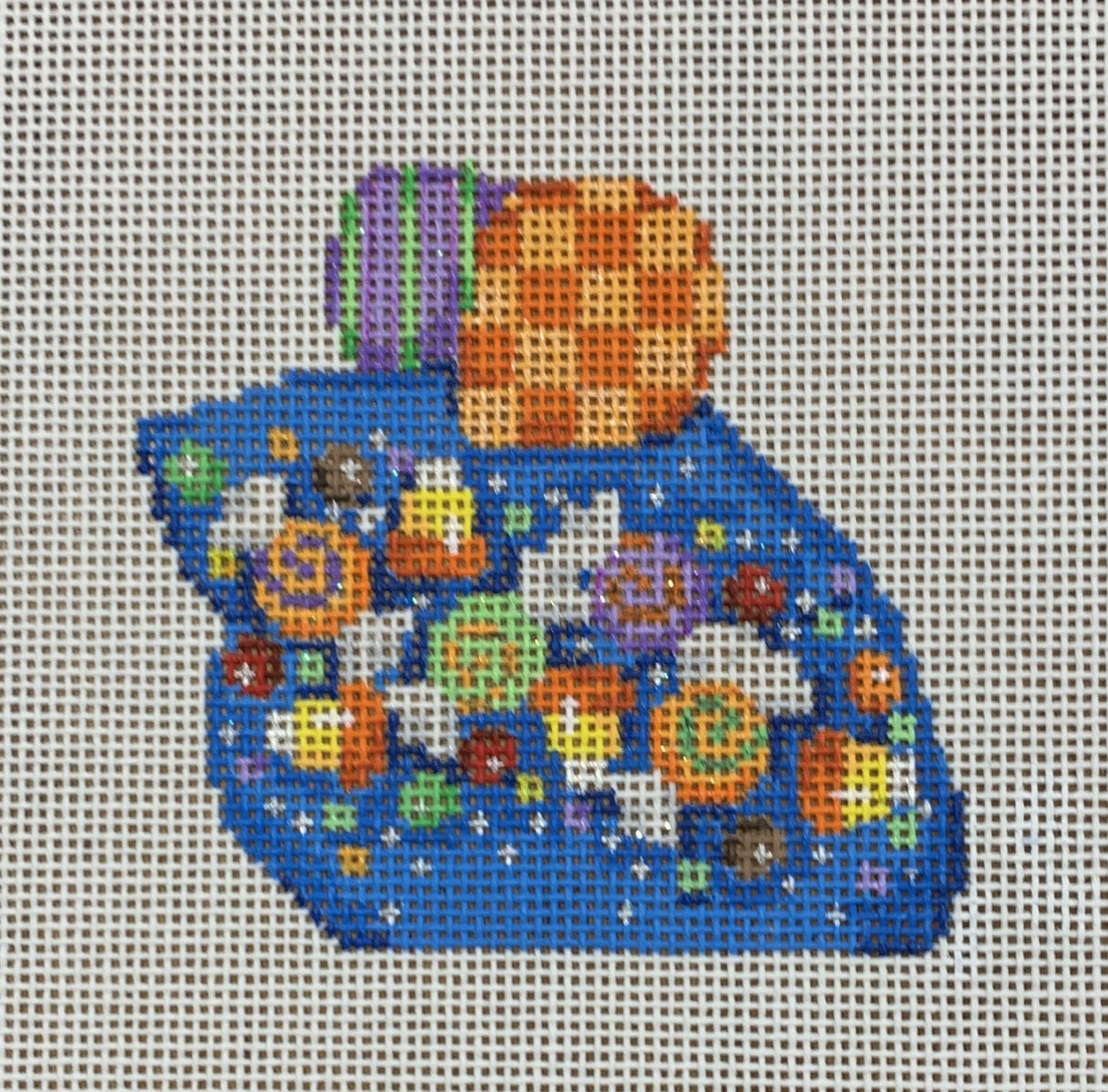 ATTSLM108 Candy Confetti Halloween Mouse  3.25x3  18